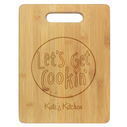 Get Cookin Cutting Board - Engraved