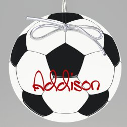 Soccer Keepsake Printed Ornament