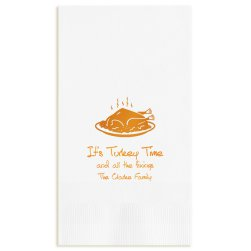 Autumn Guest Towel - Foil-Pressed