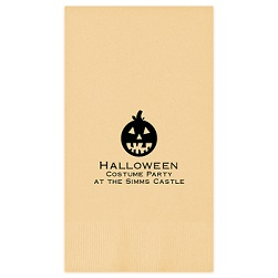 Halloween Guest Towel - Foil-Pressed