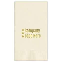 Custom Guest Towel - Foil-Pressed