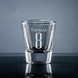 Numero Shot Glass