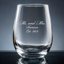 Palacio Stemless Wine Glass