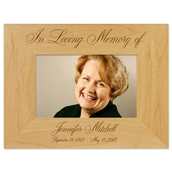 In Loving Memory Picture Frame