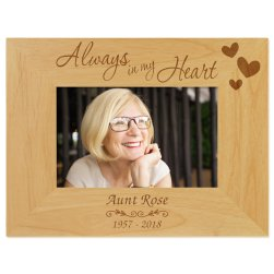 Always in My Heart Picture Frame