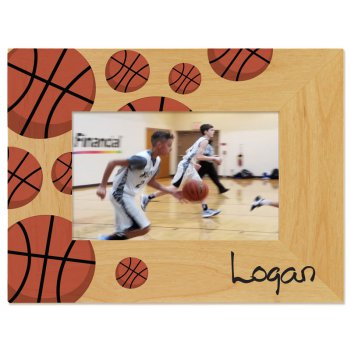 Basketball Printed Picture Frame