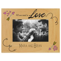 Cupids Arrow Printed Picture Frames