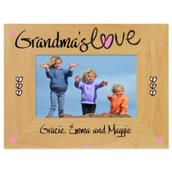 All Heart Printed Picture Frame