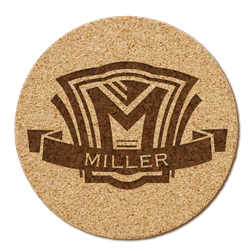 Shield Cork Coaster