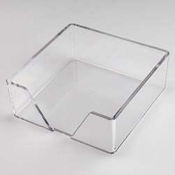 CrystalClear Beverage Napkin Holder