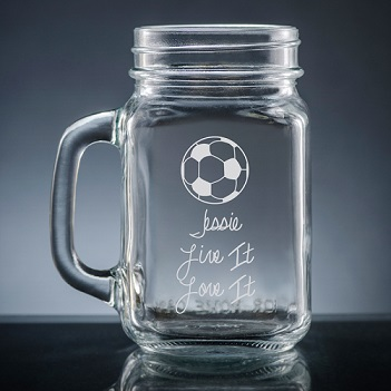 Athlete Mason Jar