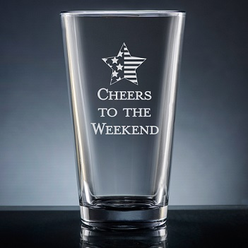 Miramar Pint Glass