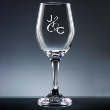 Amor Wine Glass with Stem