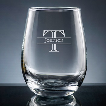 Ensenada Stemless Wine Glass