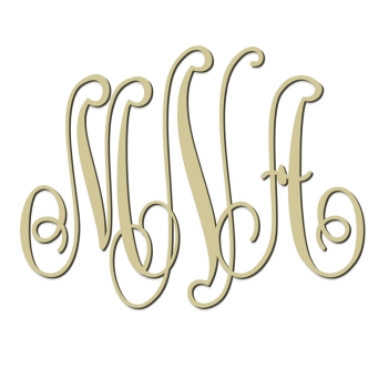 Classic Monogram Wall Sign