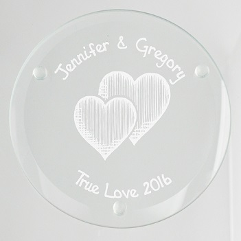 Party Glass Coaster