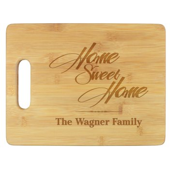 Home Sweet Home Cutting Board - Engraved