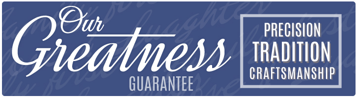 Our greatness guarantee